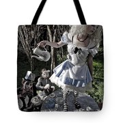 Alice And Friends 1 Tote Bag