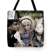 Alice And Friends 2 Tote Bag