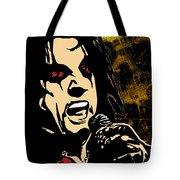 Alice Cooper Illustrated Tote Bag