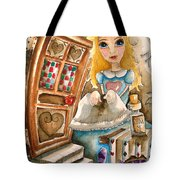 Alice In Wonderland 2 Tote Bag by Lucia Stewart