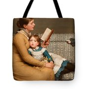 Alice In Wonderland Tote Bag by George Dunlop Leslie