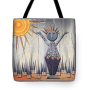 Alice The Goddess Of August Tote Bag