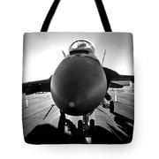 Alien Aircraft Tote Bag
