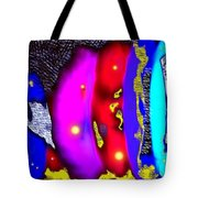 Alien Art Forms Tote Bag