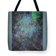 Alien Bigfoot Tote Bag