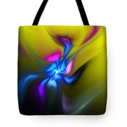 Alien Flower 2 Tote Bag