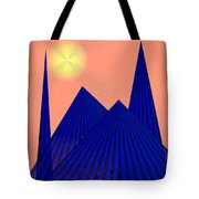 Alien Fortress Tote Bag