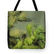 Alien Garden 2 Tote Bag