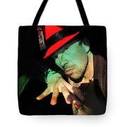 Alien Hat Tote Bag by John Jr Gholson