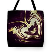 Alien Heart Tote Bag