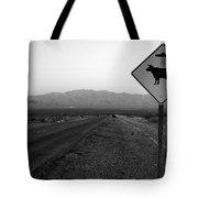 Alien Highway Tote Bag by David Lee Thompson