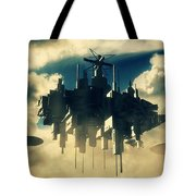 Alien Invasion By Raphael Terra Tote Bag