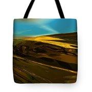 Alien Landscape 2-28-09 Tote Bag