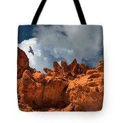 Alien Landscape Valley Of Fire Tote Bag