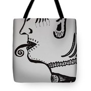 Alien Lick Tote Bag