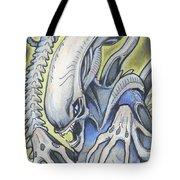 Alien Movie Creature Tote Bag