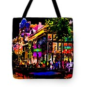 Alien Night Out Tote Bag