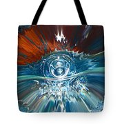 Alien Observation Bubble Tote Bag
