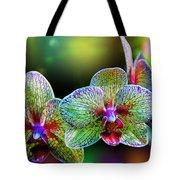 Alien Orchids Tote Bag