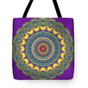 Alien Prayer Circle Tote Bag