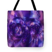 Alien Structures Tote Bag