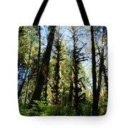 Alien Trees Tote Bag