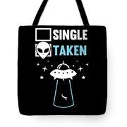 Alien Ufo Single Gift Tote Bag