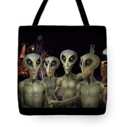 Alien Vacation - Kennedy Space Center Tote Bag
