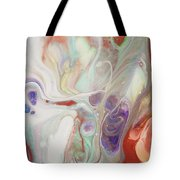 Alien Worlds. Abstract Fluid Acrylic Painting Tote Bag