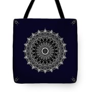 Aliens And The Spaceship Tote Bag