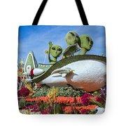 Aliens Spaceship 3 Tote Bag
