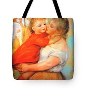 Aline And Pierre 1887 Tote Bag