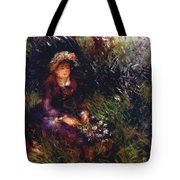 Aline Charigot With A Dog 1880 Tote Bag