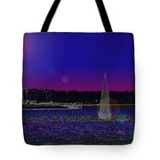 Alki Ghost Sail Tote Bag