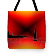Alki Sail 2 Tote Bag