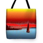 Alki Sail 3 Tote Bag
