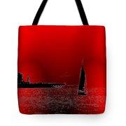 Alki Sail 4 Tote Bag