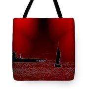 Alki Sail 5 Tote Bag