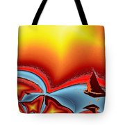 Alki Sail Under The Sun 2 Tote Bag