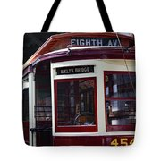 All Aboard For Brooklyn Bridge Tote Bag