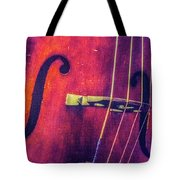 All About The Bass Tote Bag