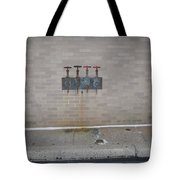 All Alone Four Pipes Tote Bag
