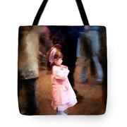 All Alone In A Crowd Tote Bag
