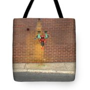 All Alone Pipe Tote Bag