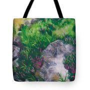 All Among The Blooming Heather Tote Bag