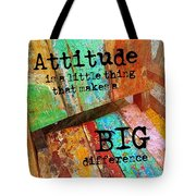 All Colorful Quote Tote Bag