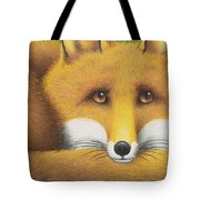 All Curled Up Tote Bag
