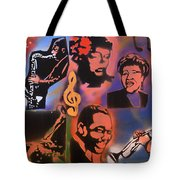 All Dat Jazz Tote Bag