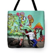 All Downhill From Here Tote Bag