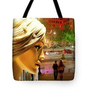 All Dressed Up And No Place To Go Tote Bag